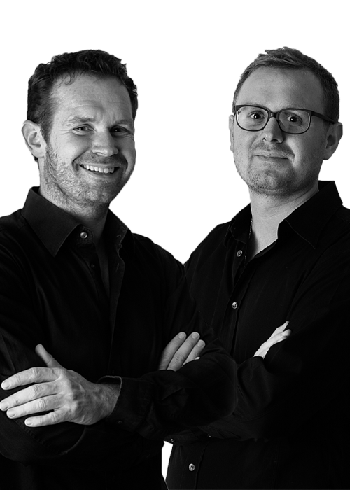 Portrait von Steffen und Matthias Zentgraf