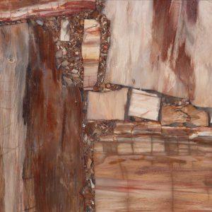 Retro Petrified Wood