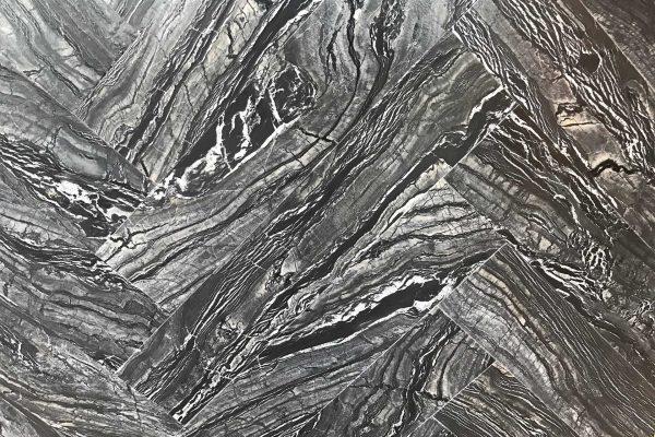 Silver Wave Herringbone